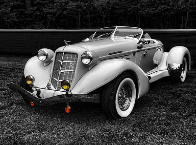 Photograph - Buehrig 851 - 1936 Auburn Speedster Classic Auto by Vlad Bubnov
