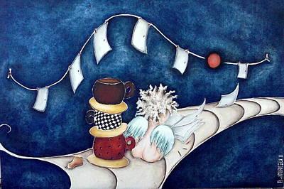 Painting - Buenas Noches Inspiracion by Belen Jauregui