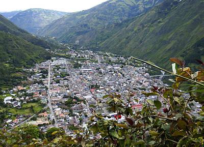 Photograph - Buenavista View Banos Ecuador by Kurt Van Wagner