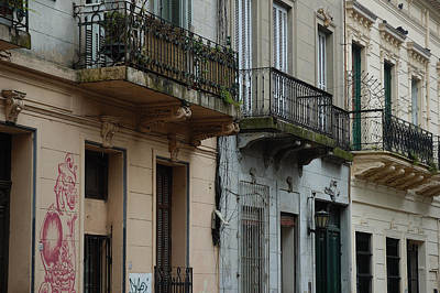 Photograph - Buenos Aires Balconies by Steven Richman