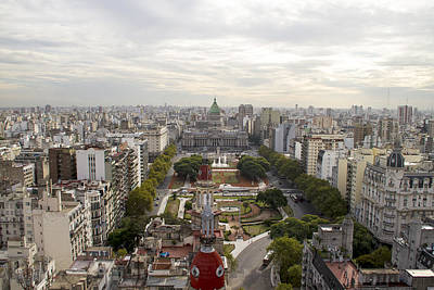 Photograph - Buenos Aires Congress by For Ninety One Days