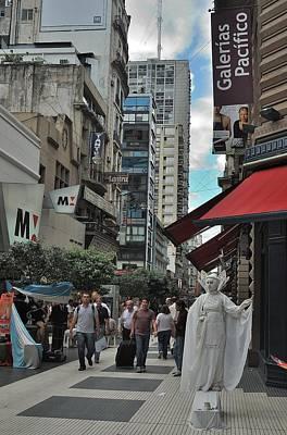 Photograph - Buenos Aires Galerias Pacifico by Steven Richman