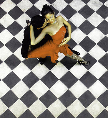 Buenos Aires Photograph - Buenos Aires, La Boca, Argentina, Tango by Miva Stock