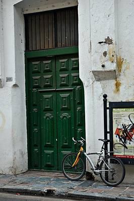 Door Photograph - Buenos Aires Montserrat by Steven Richman