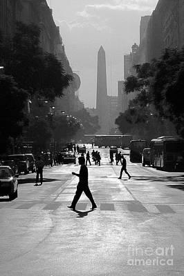 Buenos Aires Obelisk II Art Print