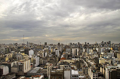 Photograph - Buenos Aires Panorama by For Ninety One Days