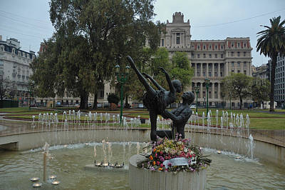 Photograph - Buenos Aires Plaza Lavalle by Steven Richman