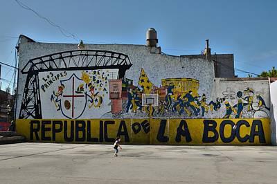 Photograph - Buenos Aires Republica De La Boca by Steven Richman