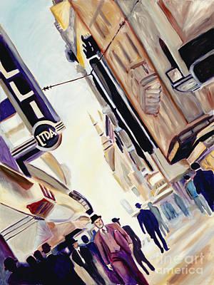 Mucha Painting - Buenos Aires by Sandra Mucha