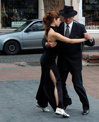 Photograph - Buenos Aires Tango Dancers by Steven Richman