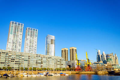 Royalty-Free and Rights-Managed Images - Buenos Aires Waterfront by Jess Kraft