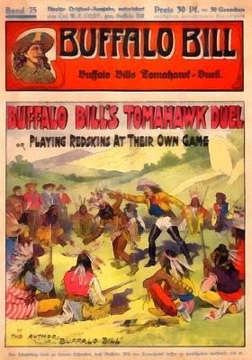 Novel Painting - Buffalo Bills Arizona Alliance by Dime Novel Collection