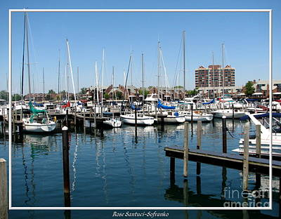 Photograph - Buffalo Boat Harbor by Rose Santuci-Sofranko
