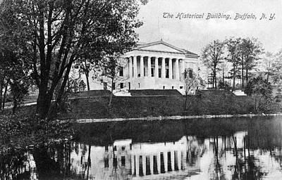 Buffalo Building, C1910 Art Print
