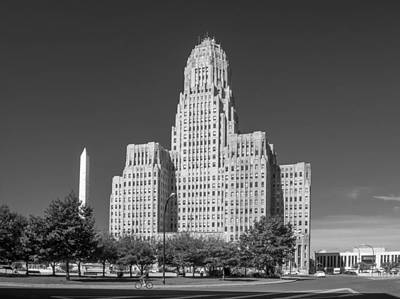 Photograph - Buffalo City Hall 0519b by Guy Whiteley