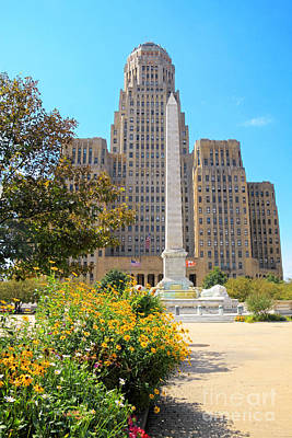 Buffalo City Hall Photograph - Buffalo City Hall by Charline Xia