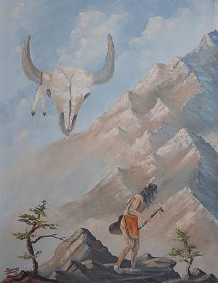 Painting - Buffalo Dancer by Richard Faulkner