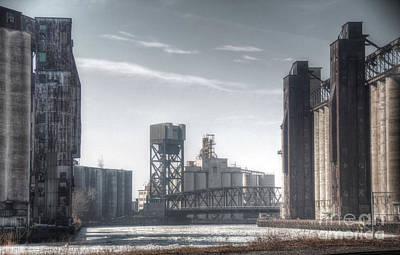 Buffalo Grain Mills Art Print