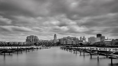 Photograph - Buffalo Inner Harbor 7k03227 by Guy Whiteley