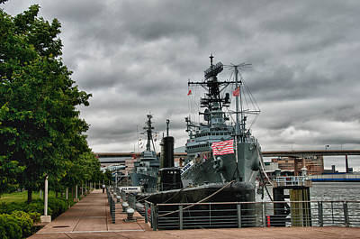 Photograph - Buffalo Naval And Military Park by Guy Whiteley