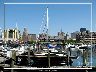 Photograph - Buffalo New York Boat Harbor by Rose Santuci-Sofranko