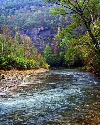 Buffalo River Downstream Art Print