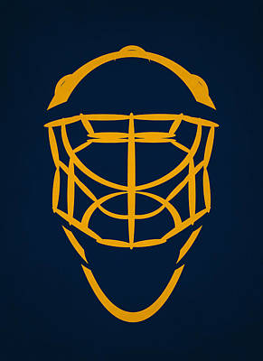 Buffalo Photograph - Buffalo Sabres Goalie Mask by Joe Hamilton