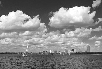 Art Print featuring the photograph Buffalo Skyline by Cindy Haggerty