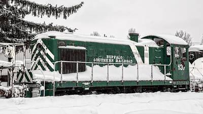 Photograph - Buffalo Southern Railroad #107 by Guy Whiteley