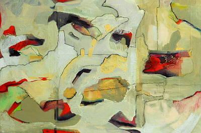 Geopolitics Painting - Buffer Zones by Danielle Nelisse