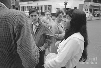 More Nyc Photograph - Buffy Sainte-marie by The Harrington Collection