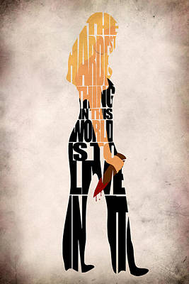 Buffy The Vampire Slayer Art Print by Ayse Deniz