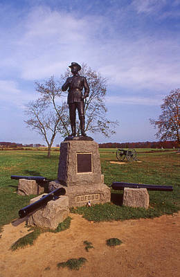 Buford At Gettysburg Art Print by Skip Willits