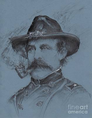 Drawing - Buford's Stand by Scott and Dixie Wiley