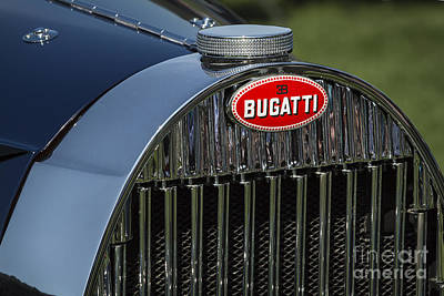 Photograph - Bugatti Grille by Dennis Hedberg