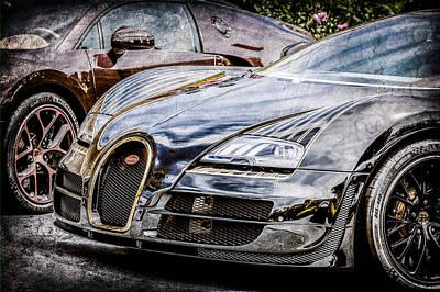 Bugatti Photograph - Bugatti Legend - Veyron Special Edition -0845ac by Jill Reger