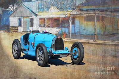 Photograph - Bugatti T35a by Stuart Row