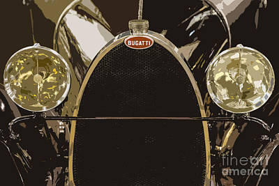 Photograph - Bugatti Type 23 by Dennis Hedberg