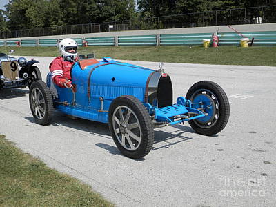 Photograph - Bugatti Type 35 Racer by Neil Zimmerman