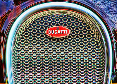 Photograph - Bugatti Veyron By Diana Sainz by Diana Raquel Sainz