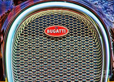 Photograph - Bugatti Veyron By Diana Sainz by Diana Raquel Sainz