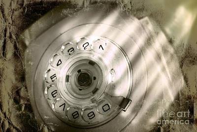 Retro Phone Photograph - Bugged Retro Telephone by Jorgo Photography - Wall Art Gallery