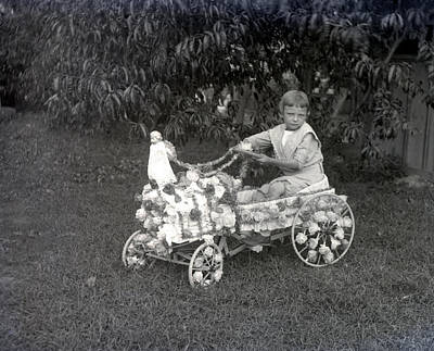 Peddle Car Photograph - Buggy Boy by William Haggart