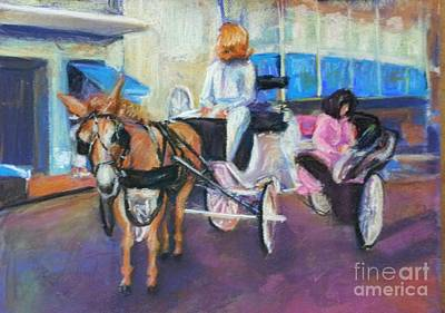 Buggy On Bourbon Street Original by Beverly Boulet