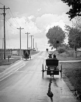 Photograph - Buggy Rush Hour by Diane Enright