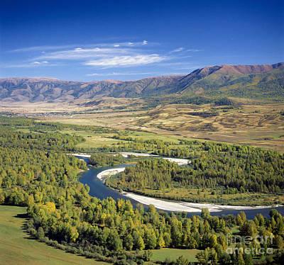 Buhtarma River. Kazakhstan Art Print by Vladimir Sidoropolev