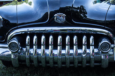 Photograph - Buick 8 Grille by Nance Larson