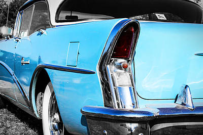 Photograph - Buick Baby Blue by Jeff Mize