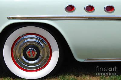 Photograph - Buick Closeup by Mark Spearman