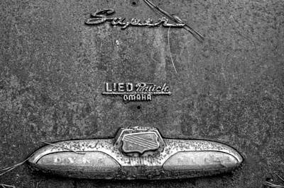Pine Needles Photograph - Buick Dynaflow In Black And White by Greg Mimbs
